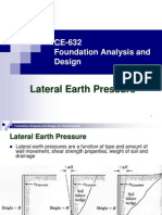 CE 632 Earth Pressure PPT