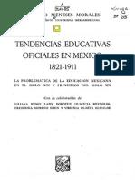 FernandoMeneses  Morales-Tendencias educativas oficiales en México 1821-1911