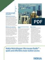MetroHopper Microwave Radio