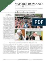 L´OSSERVATORE ROMANO - 26 Julio 2013