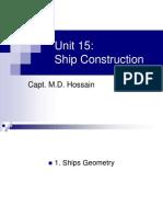 Ships Geometry