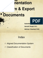 ADS & Export Documents