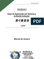 s1800-Simrad Manual Es