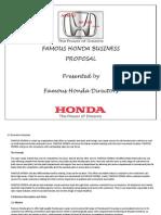 Famous Honda Business