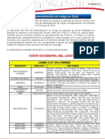 Plan Zulia Del 22 Al 28 de Julio