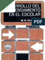 Shardakov, M. N. - Desarrollo Del Pensamiento en El Escolar