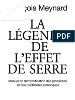 Francois Meynard - La Legende de l'Effet de Serre (2)