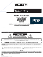 Line 6 Spider IV 15 Pilot's Guide