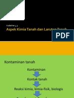 Aspek Kimia Tanah Dan Larutan Tanah