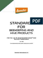 Demeter International Bee Standards 2010