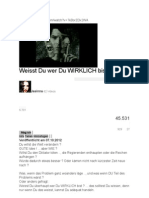 Weisst Du wer Du WIRKLICH bist ? von Jasinna plus Kommentare von 1959GinoMorelli und jungledrumradio - Stand- 26. Juli 2013.pdf