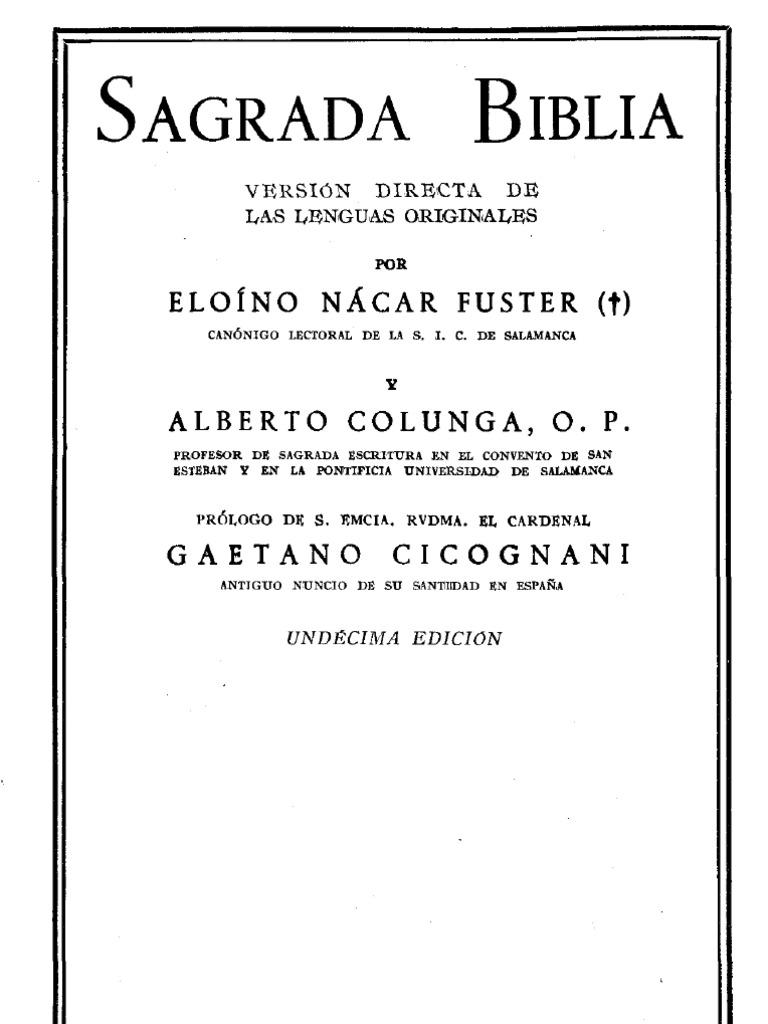 Amas Y Eunucos Porno 146189080 nacar e colunga a sagrada biblia bac 1961 pdf
