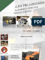 Tpc. Matpel. Generalidades y Efectos Tox. Abr 2012