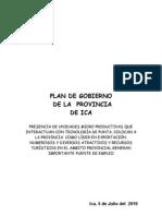 Plan de La Prov de Ica