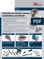 Recoil Kits Folleto Industria