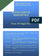 presentazione codice ambientale