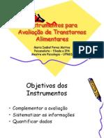 Instrumentos+para+Avaliação+de+Transtornos+Alimentares