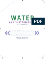 FALKENMARK 2008 Water and Sustainability