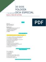EL DON DE DIOS ANTROPOLOGIA TEOLOGIVA ESPECIAL -- J.LUIS DE LA PEÑA