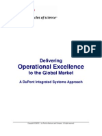 Operational Excellence in DuPont