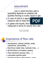 12 Flow Measurement