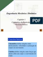 Aulas 5 a 8 - Cinemática partículas-Mov retilineo