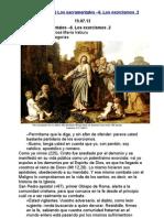 226.Los sacramentales –6. Los exorcismos .2
