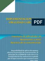 Inventario de dificultades en documentos y actas Ausencia de la concentración.