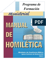 154105560 Manual de Homiletica Completo