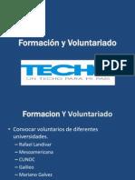 Formación y Voluntariado