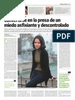 Entrevista y reseña en Tiempo Argentino p.1