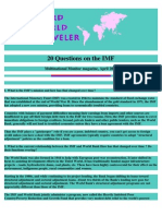 20 Q's about IMF