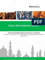 Proposal Gema Muharram Musholla Al-mursyid