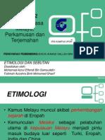 k3-Etimologi Dan Sebutan