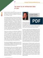 TDWI Europe Article in BI Spektrum
