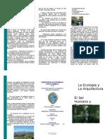 La Ecologia y La Arquitectura