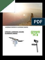 Catalogo Luminarias Solares
