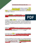 Programas Sociales en El Peru