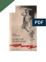 Dłużniewska, Sabina - Pamiętnik warszawski – 1964 (zorg)
