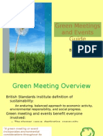 Guide to Green Meetings and Events - by Stacy Canada
