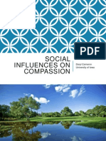 Social Influences on Compassion- Daryl Cameron