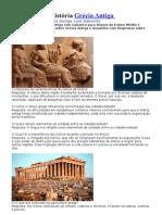 Exercícios de História Grécia Antiga