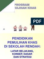 Program Pemulihan Khas