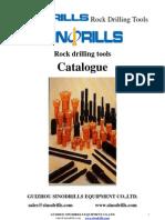 General Catalogue,rock drilling tools, dth hammer, dth bits, diamond drilling tools, anchor drilling tools, drag bits, rock drills