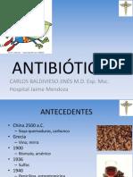 Nuevos antibioticos 2012