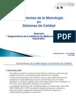 Herramientas Metrologia en SC