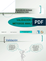 Validacion Metodos Analiticos AUDITORIA