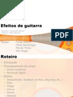 Efeitos Guitarra