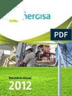 Grupo Energisa. Relatório Anual 2012 (MZ Group)