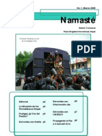 Namaste I Marzo Espanol